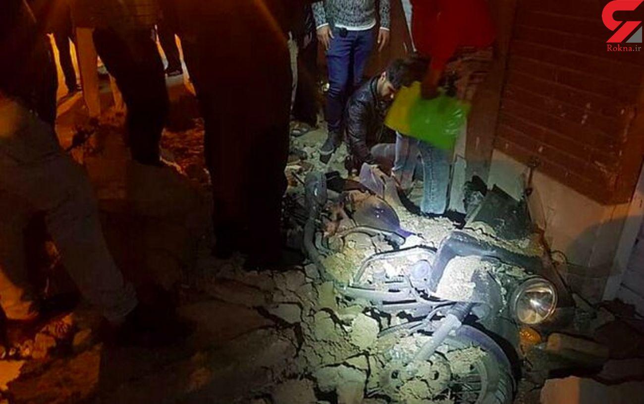 ریزش آوار با 3 مصدوم در جنوب تهران + عکس