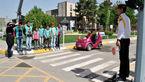ارائه آموزش ترافیکی به دانش آموزان متفاوت از طرح پلیس