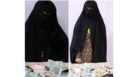بازداشت مرد سیرجانی که با لباس زنانه گدایی میکرد!+ عکس