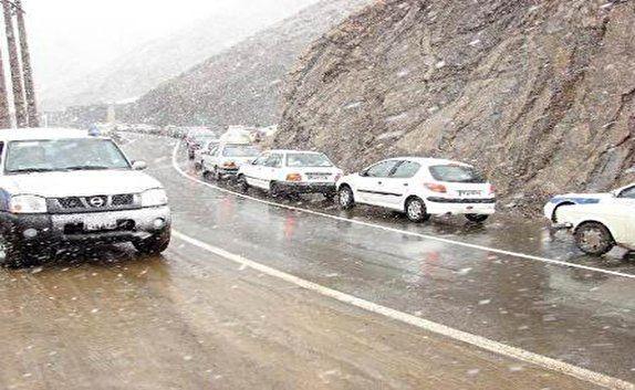بارش برف و باران نیمی از استان های کشور را فرا گرفت