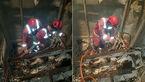 تصاویر مرگ ۶ نفر بر اثر سقوط بالابر ساختمانی