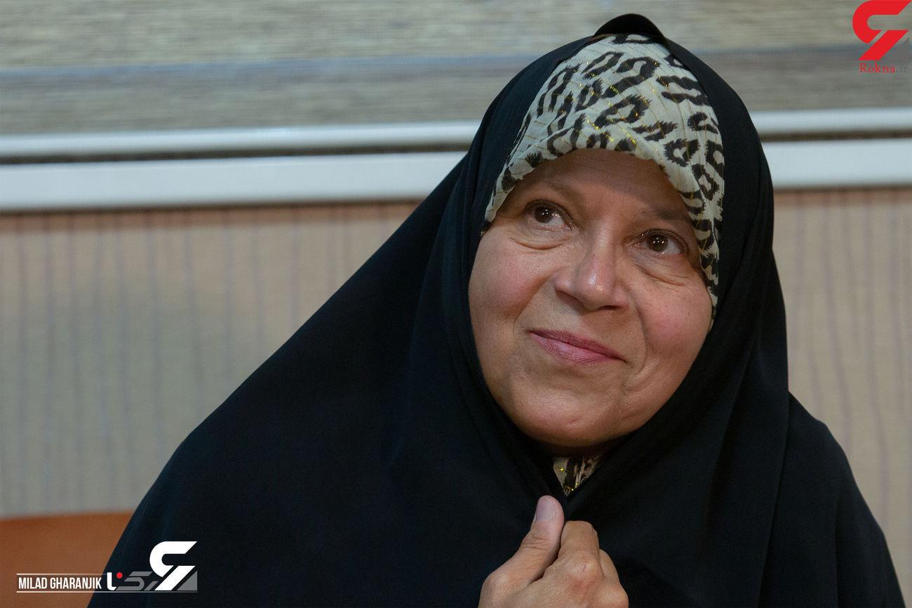 فائزه هاشمی: ۱۶ ساله بودم که ازدواج کردم / دوست مرد بهصورت خاص یا تنها نداشتم