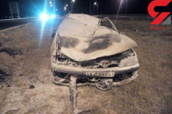 حادثه وحشتناک برای آیت الله تبریزیان و همسرش در جاده قوچان / 2 بامداد امروز رخ داد + عکس