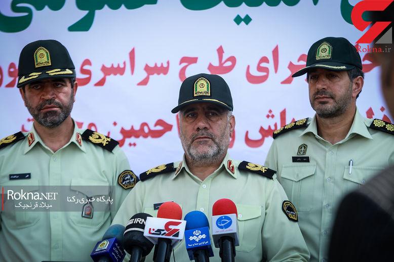 دستفروشان اجازه بساطگستری در معابر پرتردد را ندارند / رییس پلیس تهران اعلام کرد