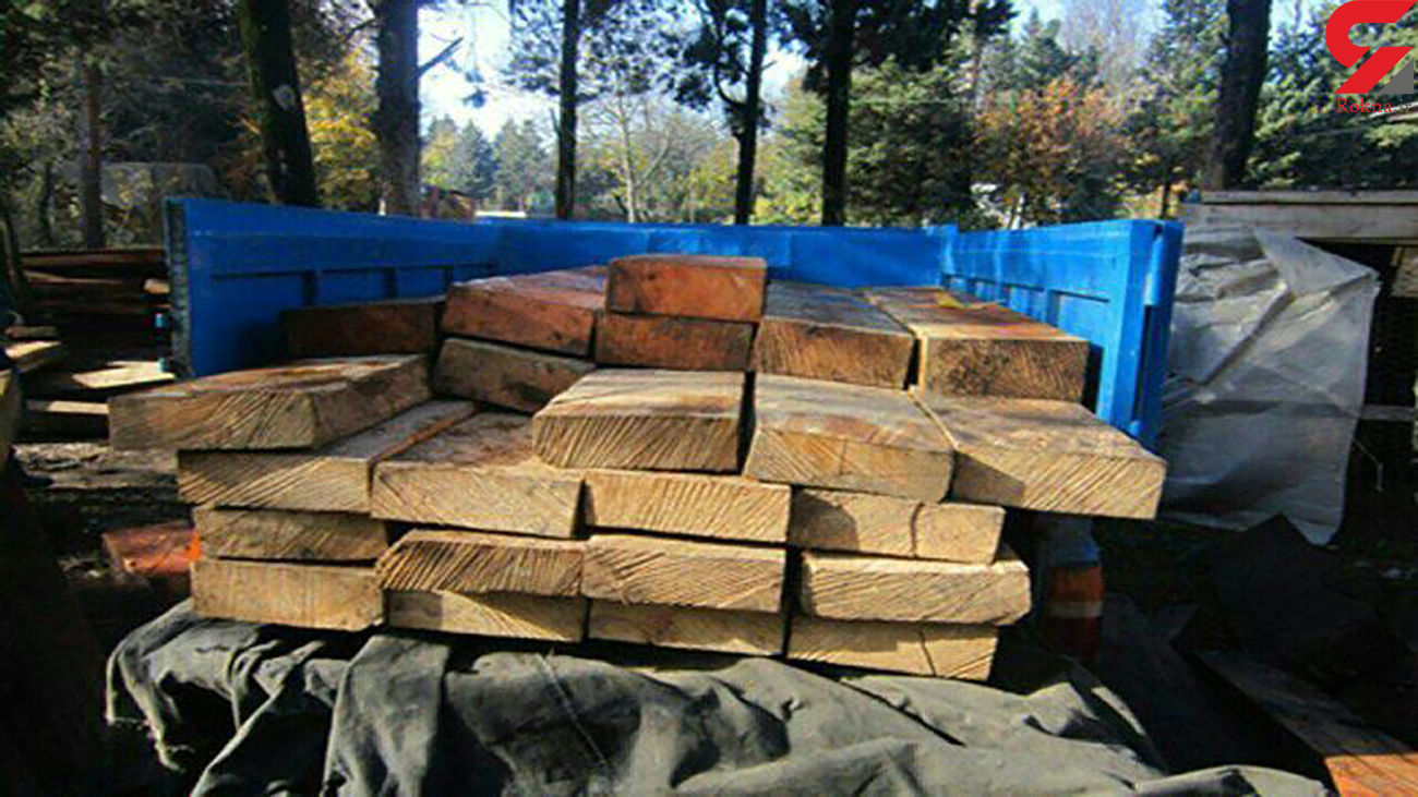کشف 3  محموله چوب قاچاق در ورامین