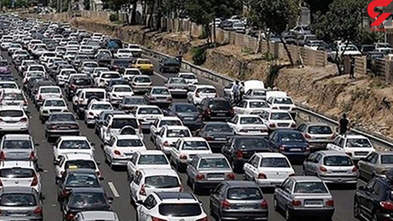 عادی شدن تردد در آزاد راه قزوین- کرج