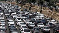 ترافیک سنگین در ورودی تهران/ تردد روان در محورهای شمالی کشور