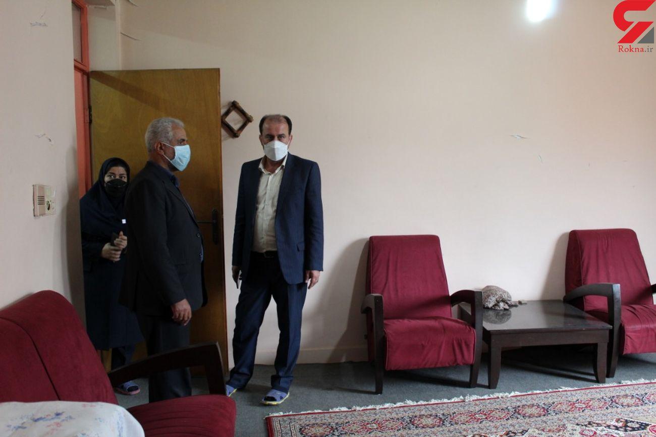 بازدید معاون اجتماعی بهزیستی مازندران از اورژانس اجتماعی شهرستان سوادکوه