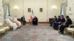 اراده قوی تهران و دوحه توسعه همه جانبه روابط است