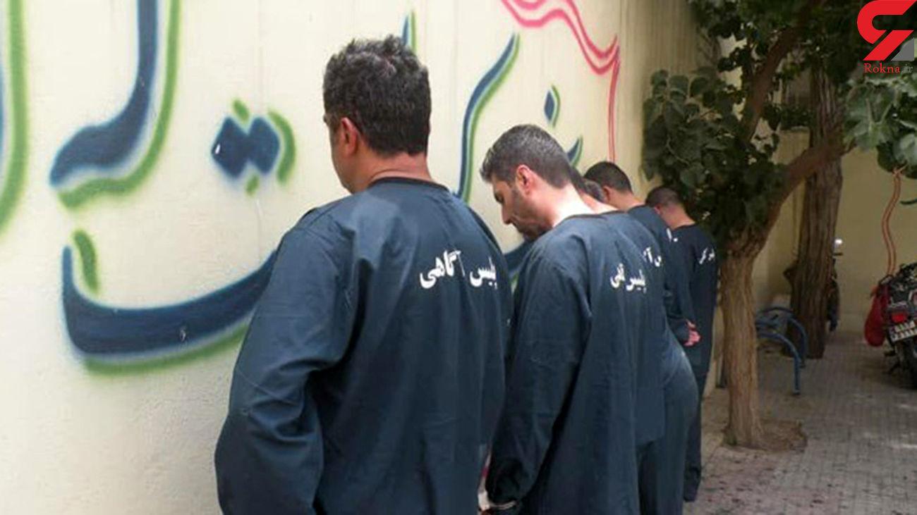 دستگیری ۷ اراذل اوباش معروف در ورامین / فضا را برای جولان اراذل و اوباش ناامنتر خواهیم کرد