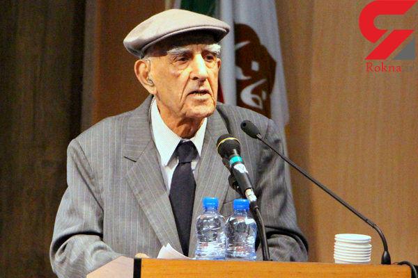 پدر  خلیج فارس درگذشت
