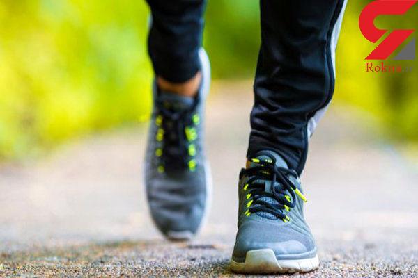 افسرده ها پیاده روی کنند