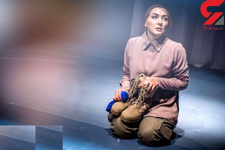 بازیگر زن معروف ایرانی در نقش همسر یک سرباز آمریکایی +عکس