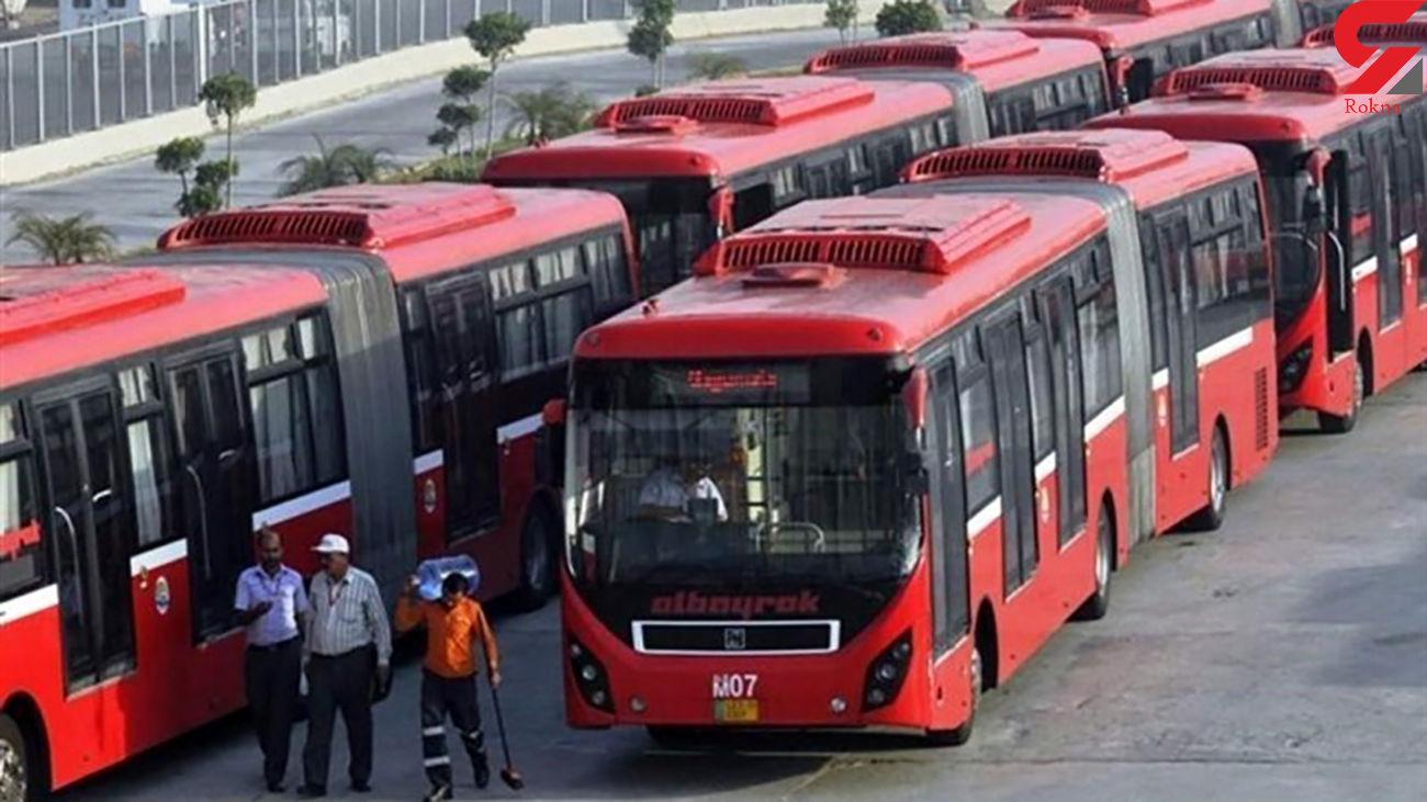 ۸۰ درصد اتوبوس های تهران در معاینه فنی مردود شدند