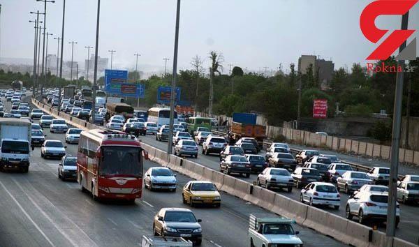 افزایش ۶.۱ درصدی تردد در محورهای برون شهری/ جزئیات محدودیت های ترافیکی جاده های کشور