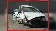 سقوط پراید به دره / 2 تن کشته و 2 تن مجروح شدند + عکس