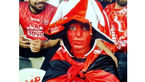 ورود غیر مجاز یک دختر پرسپولیسی به استادیوم آزادی +عکس