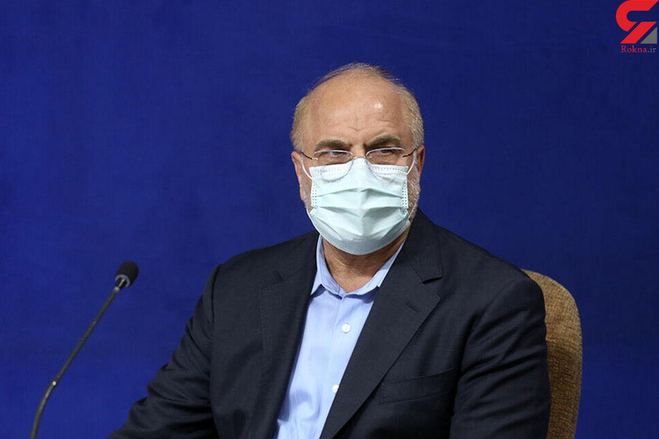 رئیس مجلس در تماسهایی جداگانه با مراجع تقلید گفتگو کرد