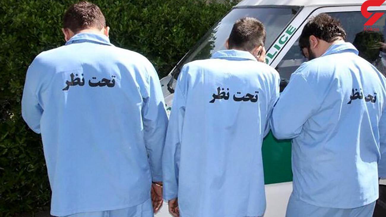 بازداشت 6 مرد مخوف که شلیک های وحشت آور مشهد زیر سر آنها بود!