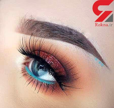 مدل های جدید آرایش چشم دخترانه و زنانه عربی