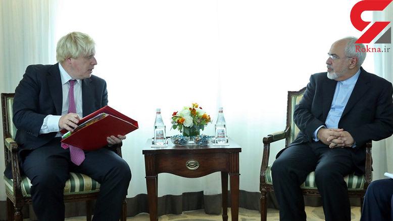انتقاد ظریف از حمله خودسرانه به سوریه و توضیح جانسون در حمله موشکی
