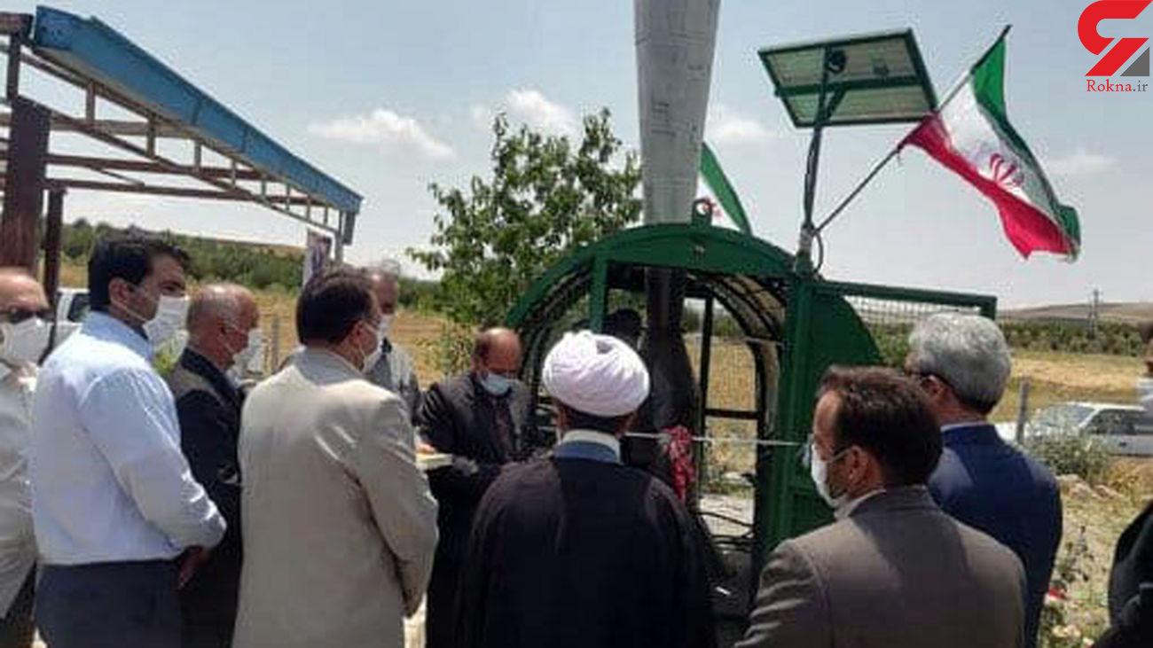 نصب پنج دستگاه سامانه ضد تگرگ با قابلیت پوشش ۵۰۰هکتار از زمینهای کشاورزی هشترود