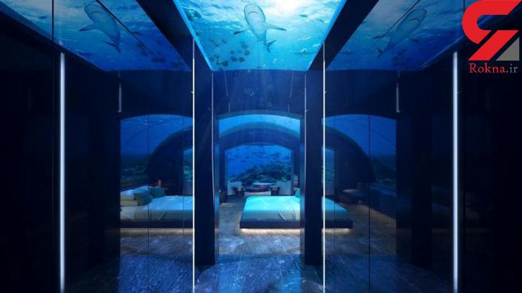 نخستین هتل زیر آب را بشناسید! + عکس