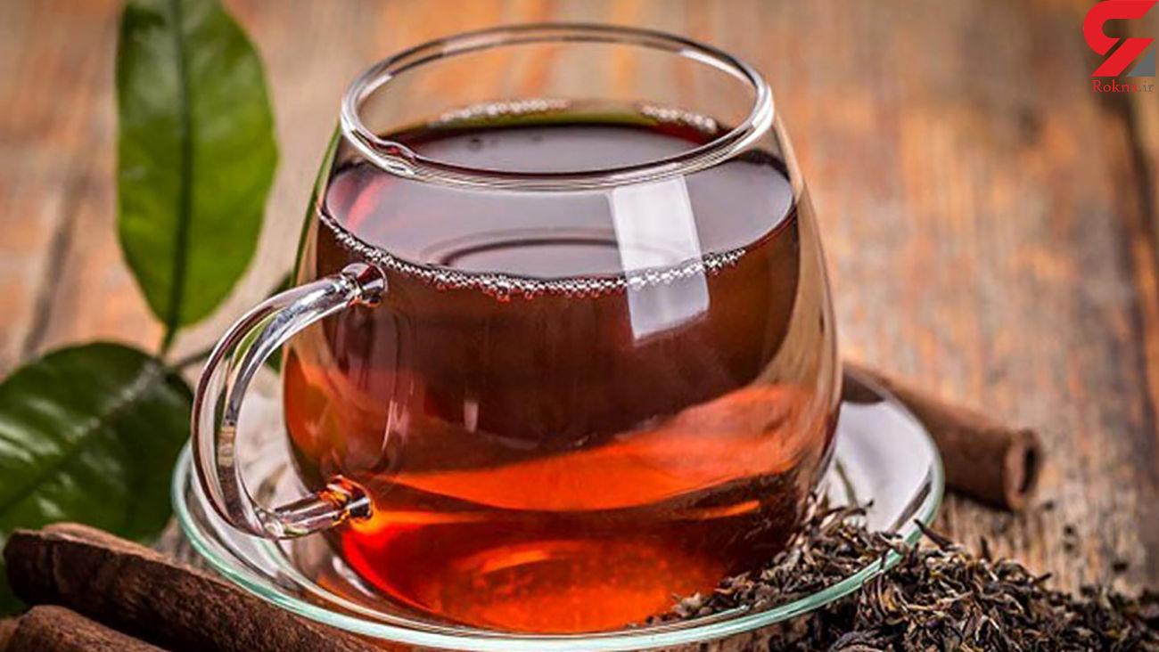 نوشیدن چای زیاد ممنوع !