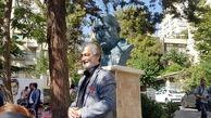 سردیس عزتالله انتظامی رونمایی شد / تایید هنرمند پیش از مرگ