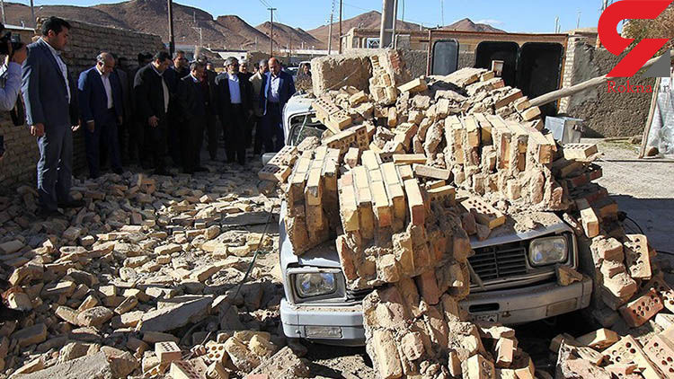 زلزله مسجد سلیمان 37 مجروح داشت