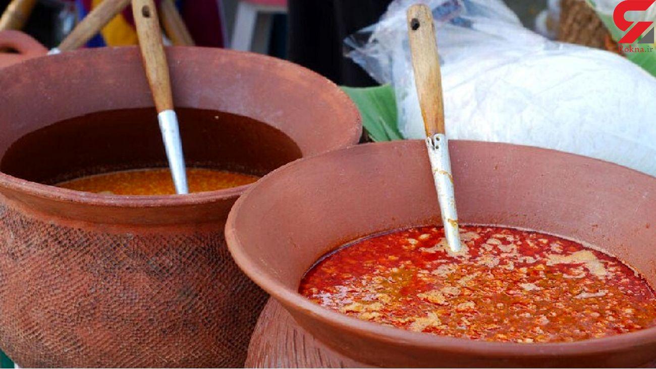 اسماعیل داخل دیگ سوپ داغ افتاد و پخت + عکس