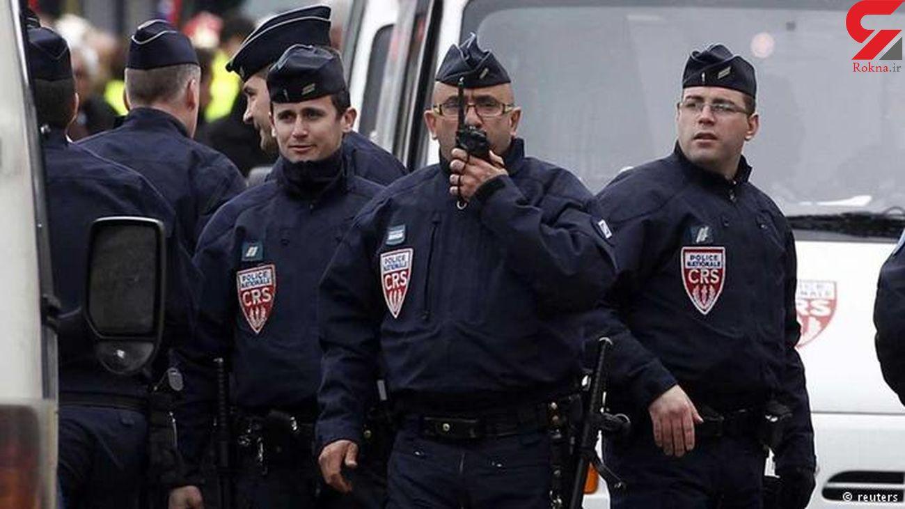 حمله پلیس فرانسه به تیم خبری صدا و سیما / وضعیت تصویربردار وخیم است
