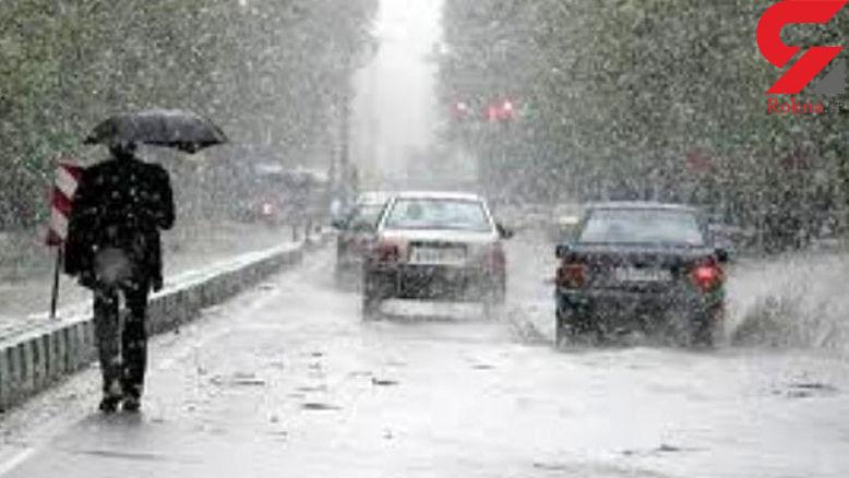 """""""برف و باران"""" تهران و نیمه غربی کشور را در بر میگیرد"""