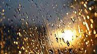 باران زیبای تابستانه در پایتخت + فیلم