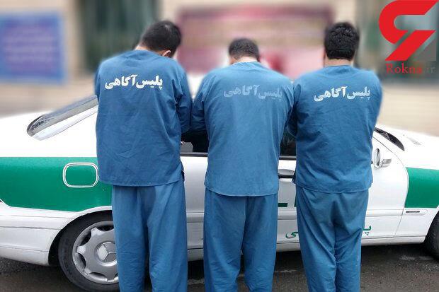 باند سارقان حرفه ای در تاکستان در عملیات ضربتی ضربه فنی شدند