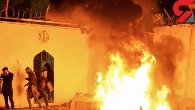 عربستان: حمله به کنسولگری ایران بخشی از عواقب آتشگرفتن سفارت سعودی در تهران است