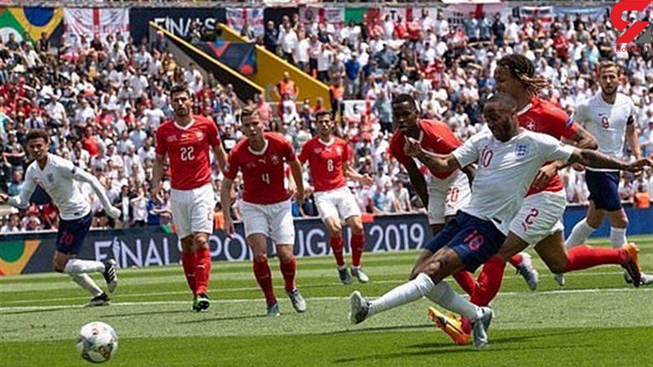 انگلیس با غلبه بر سوئیس در ضربات پنالتی مقام سوم را کسب کرد