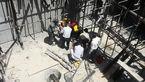 سقوط ناگهانی جوشکار تبریزی از ساختمان نیمه کاره+ عکس