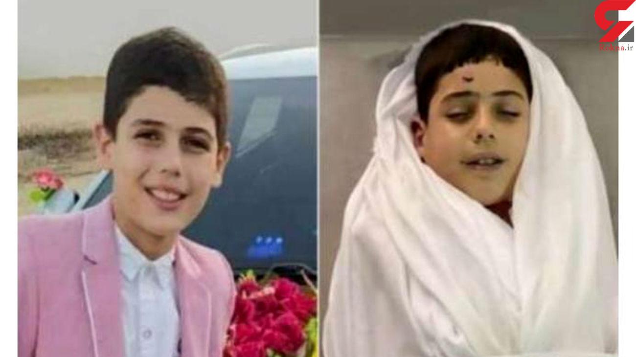 عکس خنده چهره کودک فلسطینی پس از شهادت جهانی شد + عکس