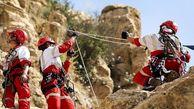 عملیات نجات 4 کوهنورد در ارتفاعات قلات شیراز