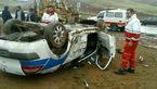 عجیب ترین عکس از مچاله شدن ماشین پلیس در ایران + عکس