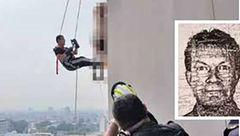 جسد حلق آویز در طبقه 31 یک برج در پاتایا + عکس