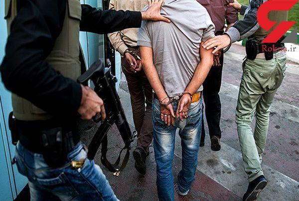 سارقان زورگیر منطقه کردان در دام پلیس + عکس