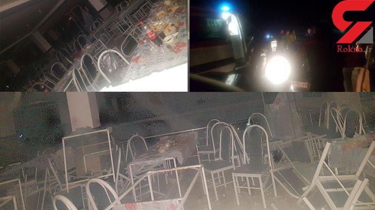انفجار وحشتناک در مراسم عروسی در سقز /  10 تن جان باختند+ عکس