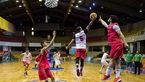 ستارههای بسکتبال ایران در آسمان لبنان