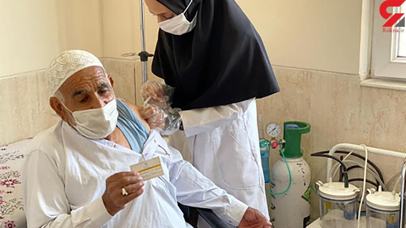آغاز واکسیناسیون کرونا برای افراد بالای 45 در سیستان و بلوچستان