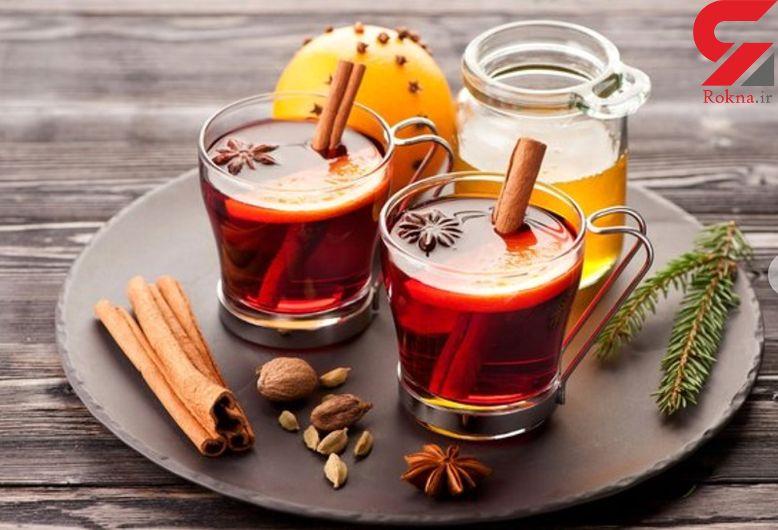 خوش طعم شدن چای سیاه با ادویه های معطر