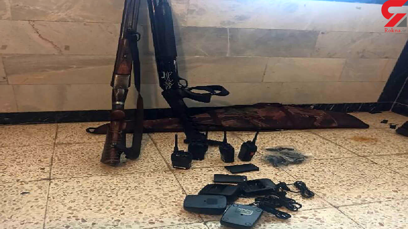 دستگیری شکارچی غیرمجاز قبل از اقدام به شکار در سیرجان