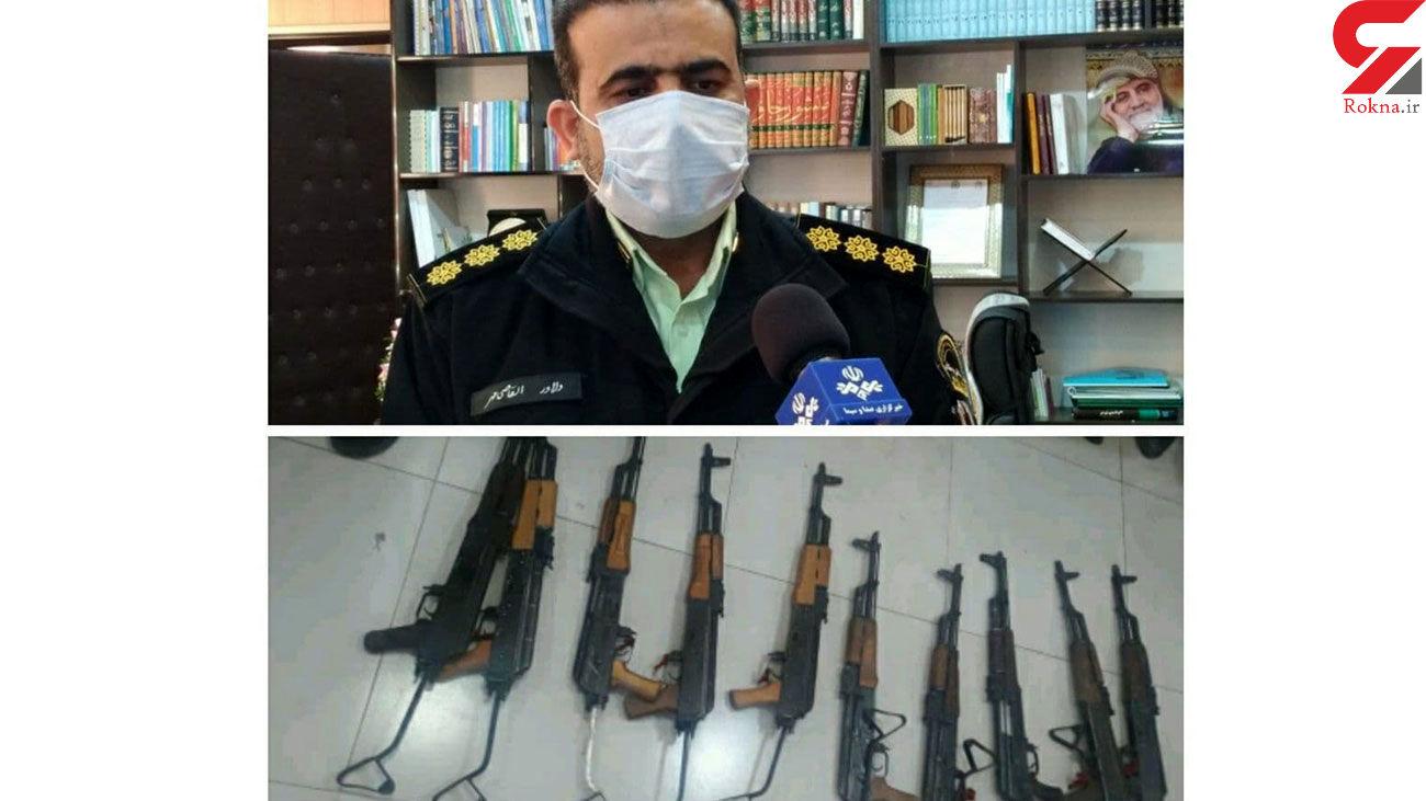 باند سه نفره خرید و فروش سلاح جنگی در دهلران متلاشی شد