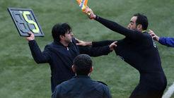 ضرب و شتم شدید داور لیگ برتری فوتبال ایران در یک دیدار محلی +فیلم و تصاویر